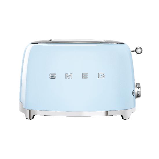 SMEG - Smeg 2-Slice Toaster -Pastel Blue