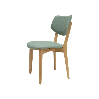 Gabby Dining Chair - Natural, Sea Green - Image 2