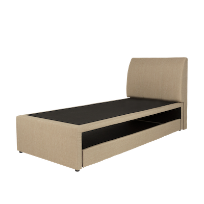 ESSENTIALS Trundle Bed - Sand (Fabric) - 2 Sizes - Image 1