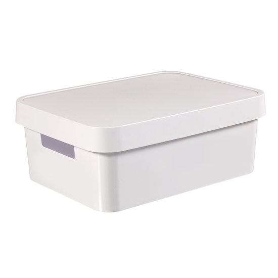 Curver - Infinity Box + Lid - White