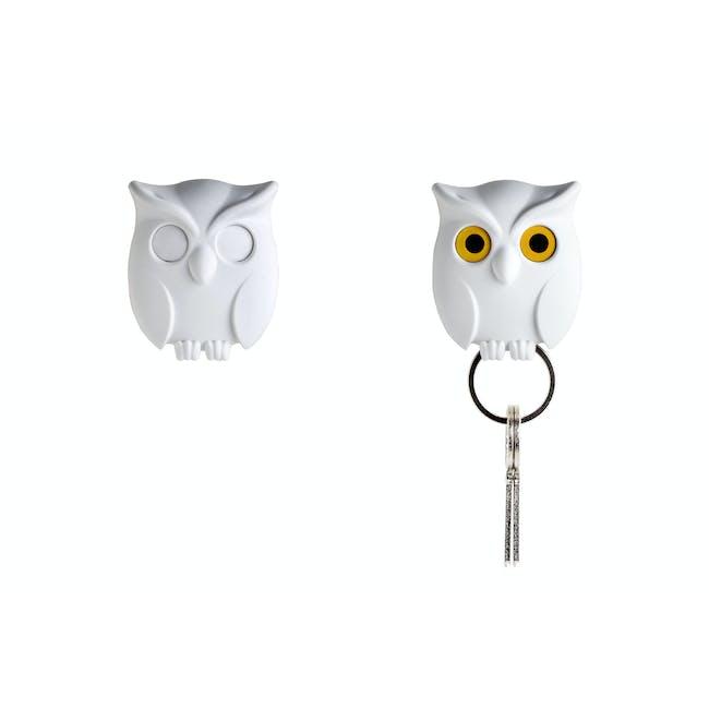 Night Owl Key Holder - White - 2