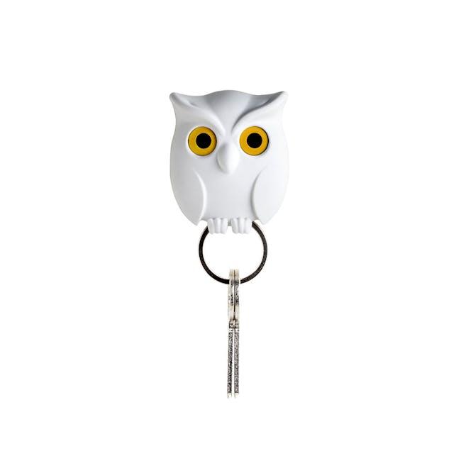 Night Owl Key Holder - White - 0