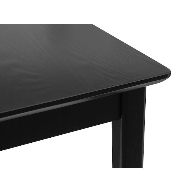 Koa Bench 1.4m - Black Ash - 3