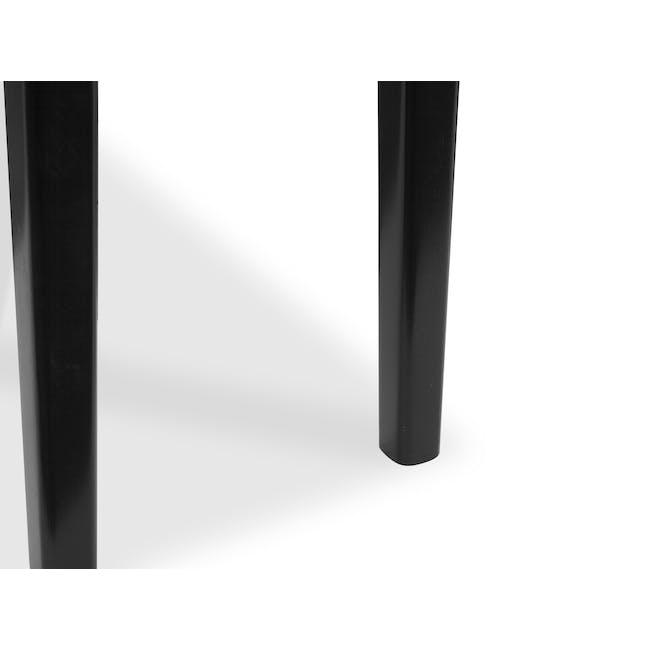Koa Bench 1.4m - Black Ash - 4