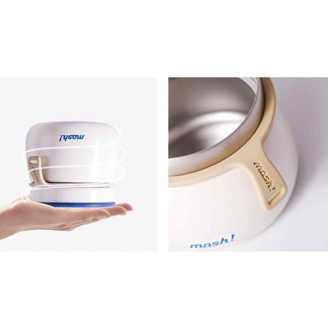 MOSH! Latte Food Pot 350ml - White - 3