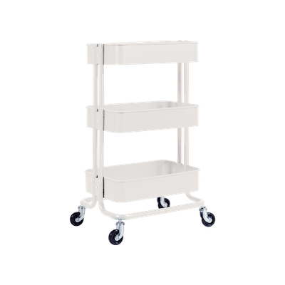 Snyder Trolley - White - Image 1