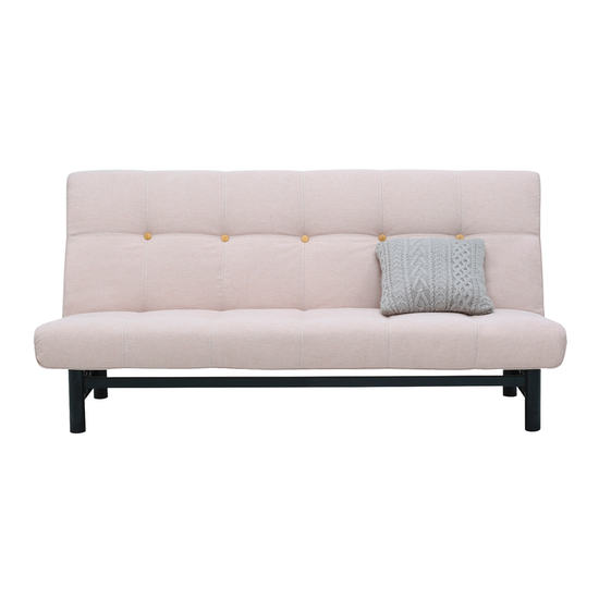 Dallas Sofa Bed Champagne