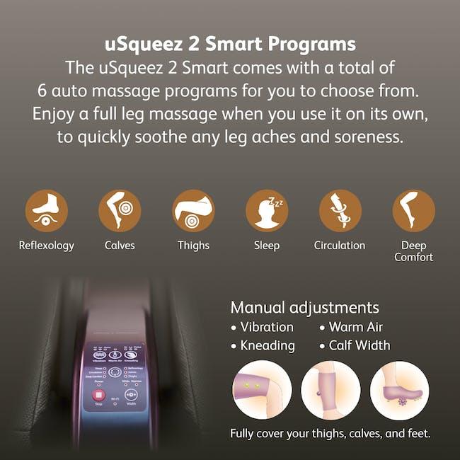 OSIM uSqueez 2 Smart Leg Massager - 3
