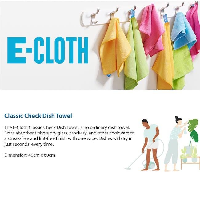 e-cloth Eco Tea Towel / Dish Cleaning Cloth - Blue - 5
