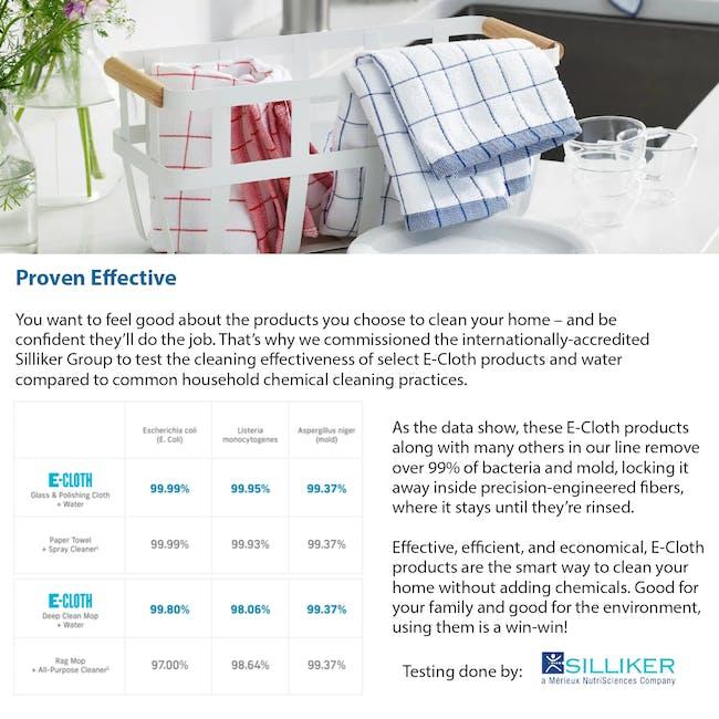 e-cloth Eco Tea Towel / Dish Cleaning Cloth - Blue - 4