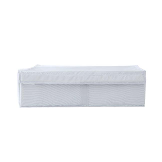Hayley Wardrobe Storage Case 13 Compartments - White - 1