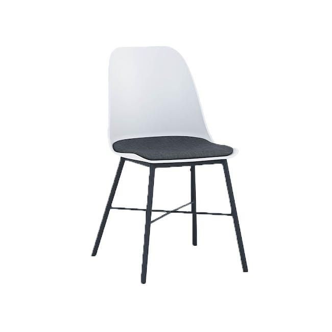 Denver Dining Chair - White - 3