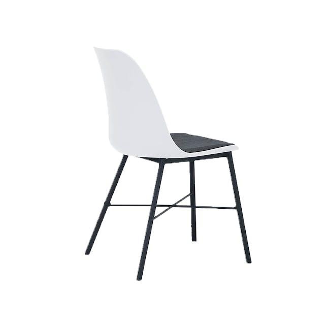 Denver Dining Chair - White - 2