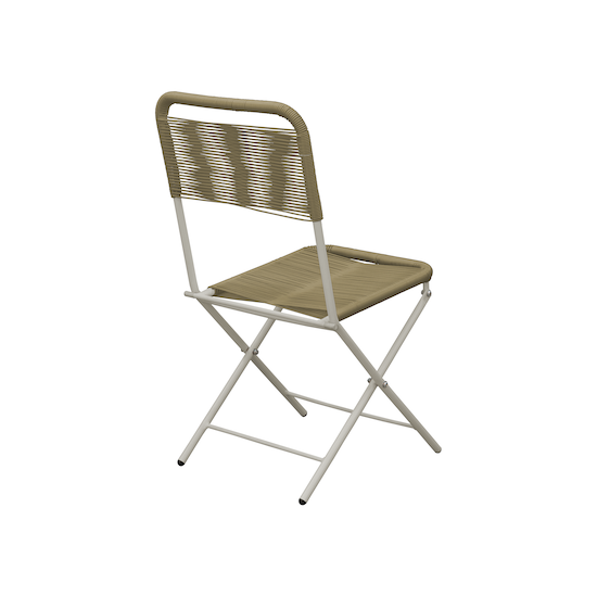Acapulco Folding Chair Taupe