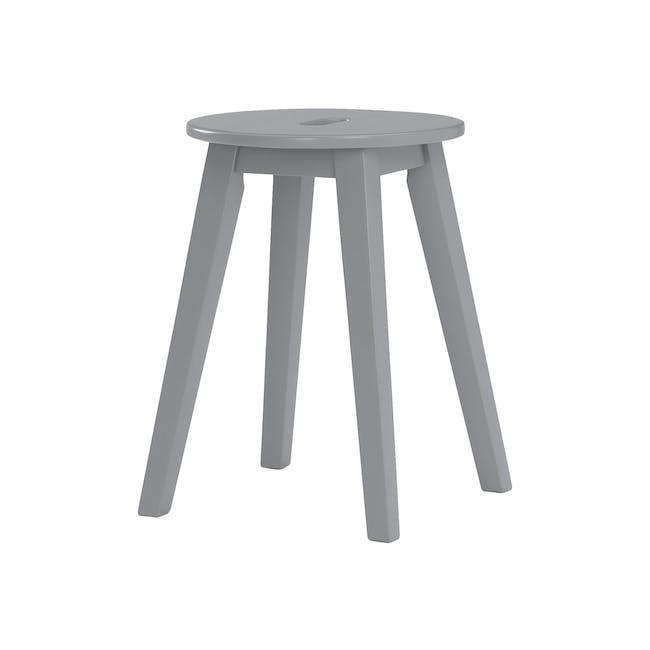 (As-is) Calder Stool - Light Grey - 3 - 0
