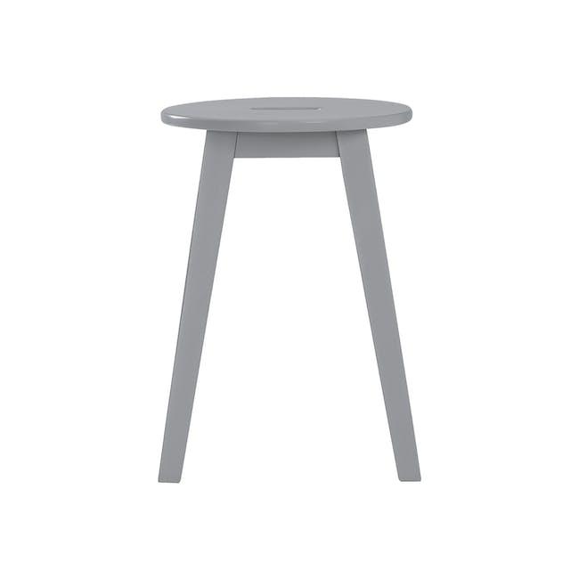 (As-is) Calder Stool - Light Grey - 5 - 7