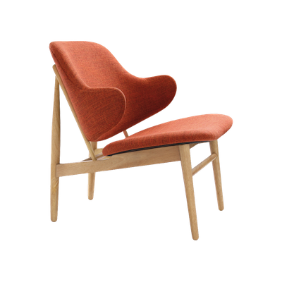 Veronic Lounge Chair - Russet, Oak - Image 1