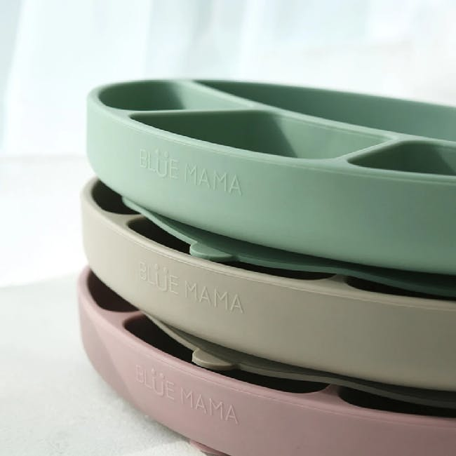 MODU'I Silicone Suction Plates - Pink - 7