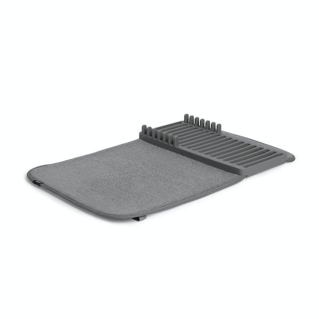 Udry Mini Dish Drying Mat - Charcoal - 2