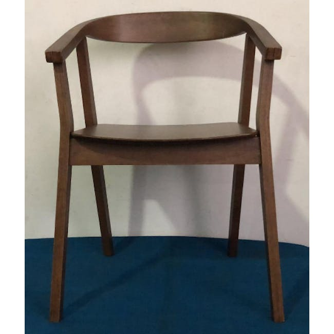 (As-is) Greta Chair - Cocoa - 3 - 2