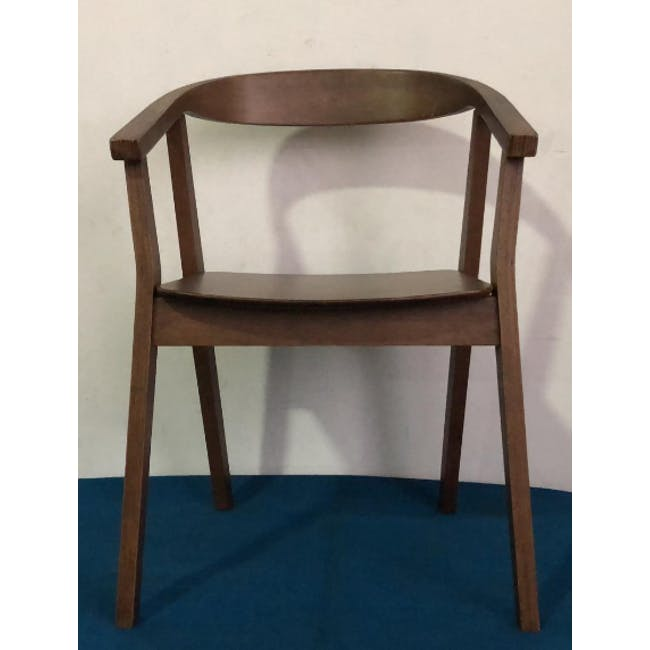 (As-is) Greta Chair - Cocoa - 3 - 1