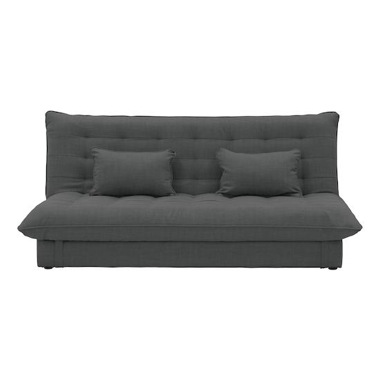 Tessa L-Shaped Storage Sofa Bed - Hailstorm