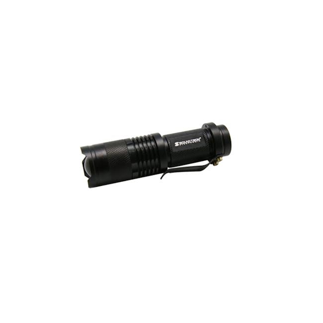 SOUNDTEOH 3W Cree Focus Torch Light FL-0003 - 1