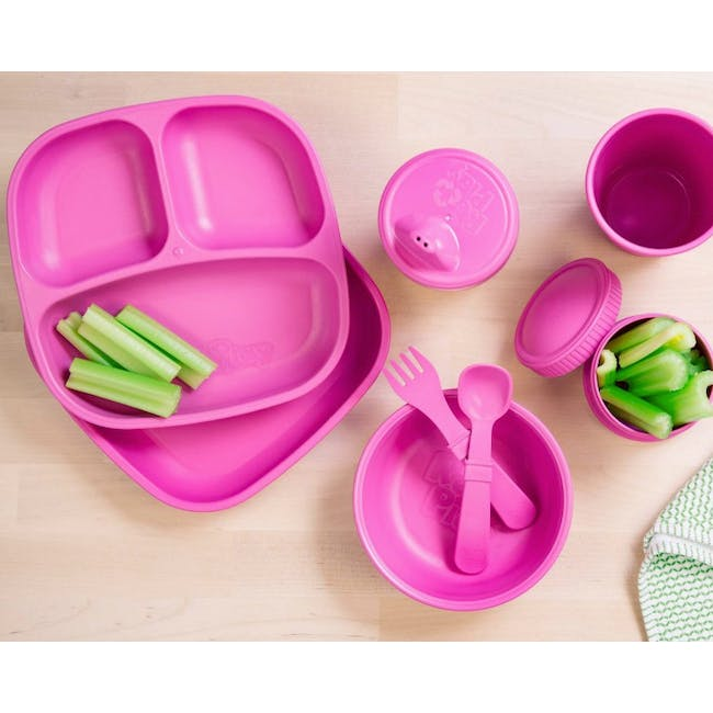 """Re-Play 5"""" Bowl - Bright Pink - 2"""