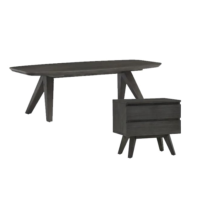 Maeve Coffee Table with Maeve Bedside Table - 0