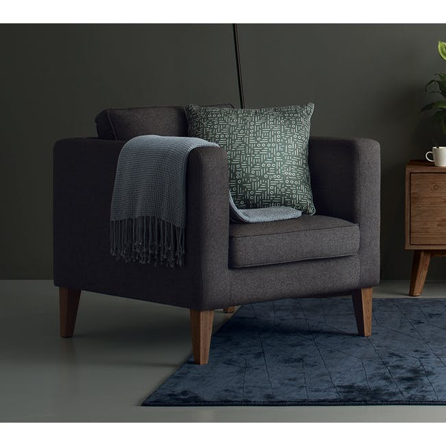 Rumi Square Cushion - 1