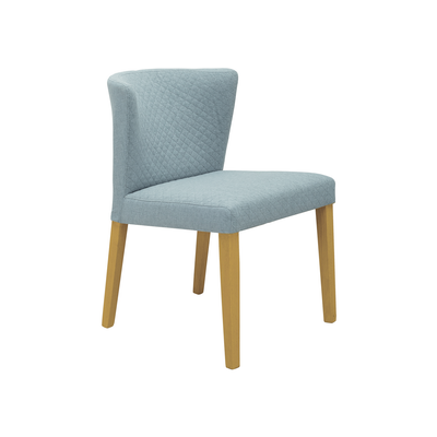 Rhoda Dining Chair - Natural, Aquamarine - Image 1