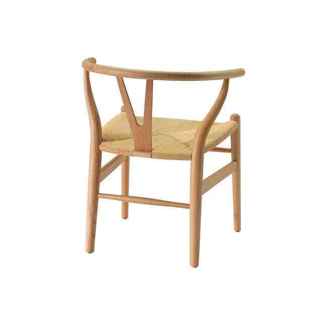 Wishbone Chair Replica - Beech, Natural Cord - 5