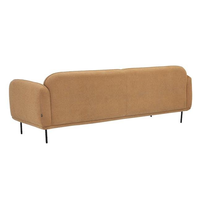 Miura 3 Seater Sofa - Turmeric (Easy Clean Fabric) - 4