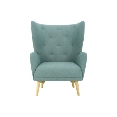 Kiwami Lounge Chair - Marble Blue - Image 1