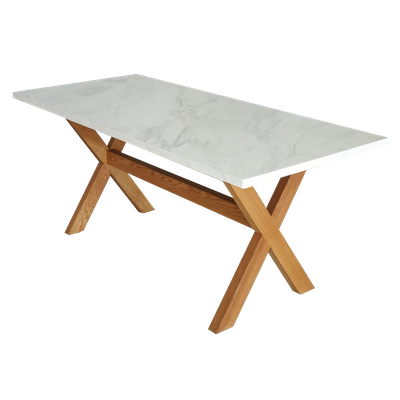 Xavier Marble Dining Table - Image 1