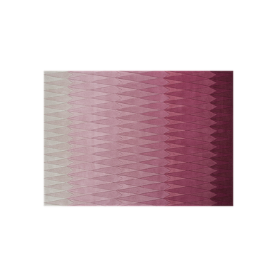 Cristallo Ombre Hand Tufted Wool Rug (2m by 3m) - Pink - Image 2