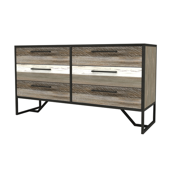 Xavier by HipVan - Xavier 6 Drawer Chest 1.55m