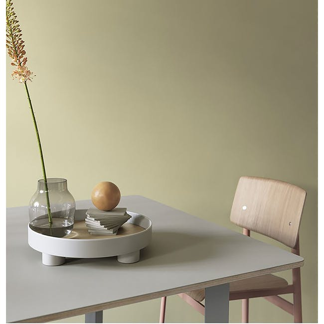 Edd Nordic Tray with Stand - Grey - 3