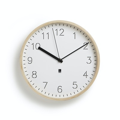Rimwood Clock - Natural - Image 1