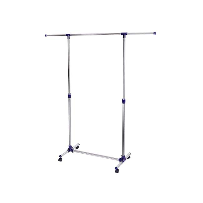 Telescopic Single Pole Clothes Hanger - 0