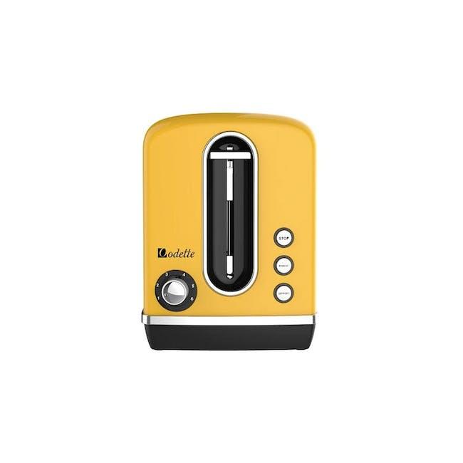 Odette Streamline 2-Slice Bread Toaster - Yellow - 0