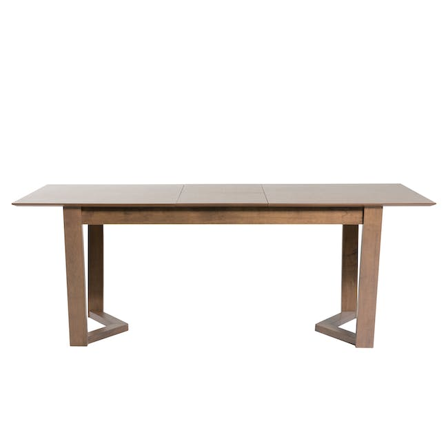 Meera Extendable Dining Table 1.6m - Cocoa - 14