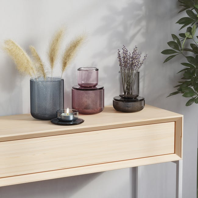 Allira Glass Organiser - Purple - 4
