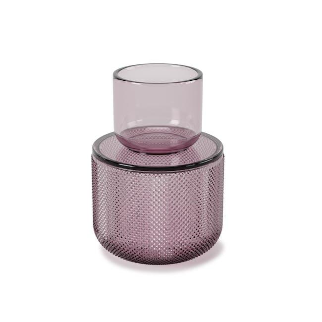 Allira Glass Organiser - Purple - 2