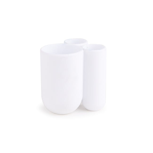 Touch Toothbrush Holder - White - 0