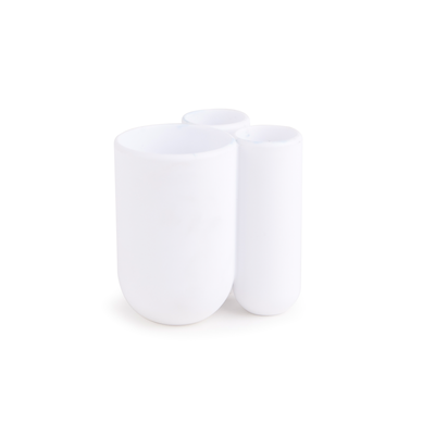 Touch Toothbrush Holder - White - Image 2
