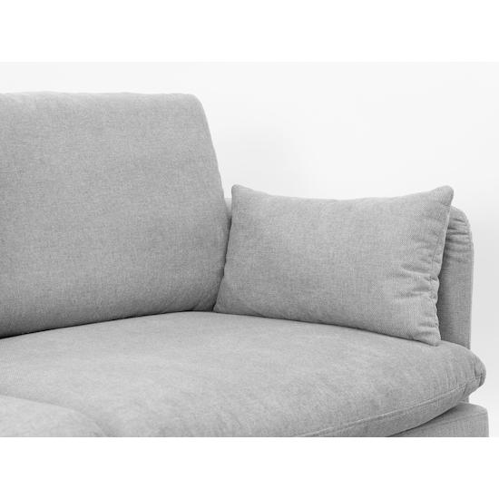 Bulanka - Jude 3 Seater Sofa - Slate Grey, Down Feathers