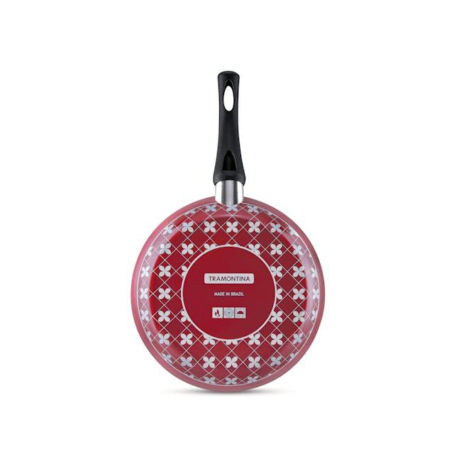 Tramontina Starflon Non-Stick Frying Pan Set - Red(3 Sizes) - 1