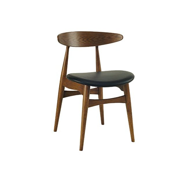 Tricia Dining Chair - Walnut, Espresso - 0
