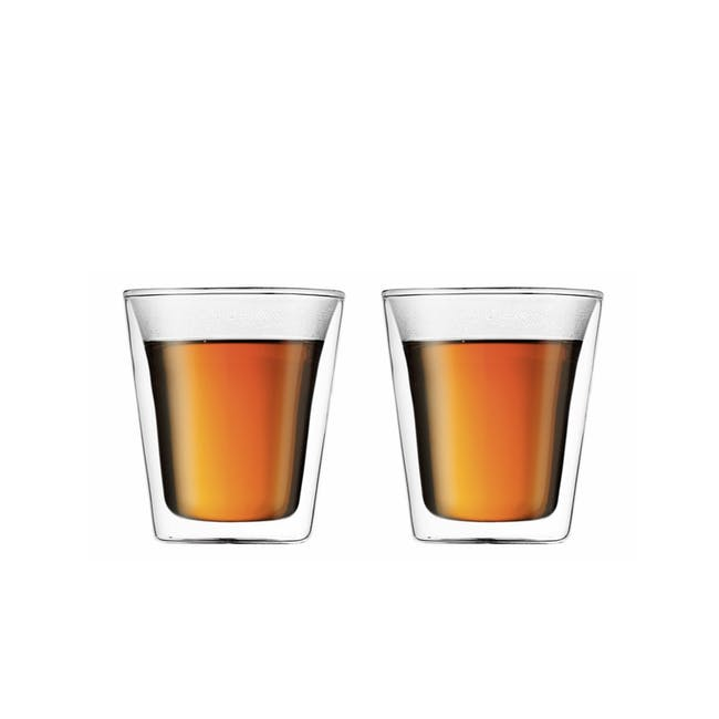 CANTEEN Double Wall Glass 0.2L (Set of 2) - 2